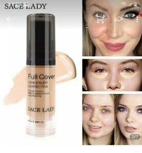 SACE LADY FULL COVER LIQUID CONCEALER - 6/12 ml DARK CIRCLES & BLEMISH-UK SELLER