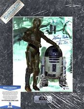 "KENNY BAKER, ANTHONY DANIELS Signed Chromart ""STAR WARS"" BAS Beckett #C83268"
