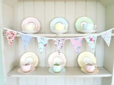 """Bunting Gorgeous Ditsy Fabrics Home Office Garden Decorations Handmade SALE 36"""""""