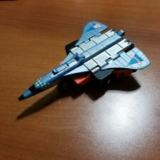 1985 Hasbro Transformers Autobot Silverbolt Blue Red Concord Plane