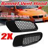 M3 Style ABS Plastic Air Scoop Bonnet Hood Vent for BMW E90 E91 E92 E93 M3 Black