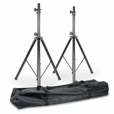 American DJ SPSX2B Two Universal Accu Tripod, Speaker Stands and Carry Bag