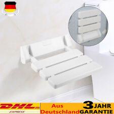 Duschsitz Duschklappsitz Bis 130 kg Duschsitz Dusch Klappsitz zur Wandmontage DE