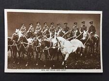 Vintage Postcard Military RP #M240: Royal Army Service Cops Display 1926 Holborn