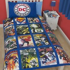 DC Comics Originals Single Panel Duvet Cover Bed Set Batman Superman Green Arrow