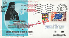 """CE13-IT2 FDC Council of Europe """"Cyprus Membership / Archbishop MAKARIOS"""" 04-1961"""