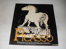 AAVV - PICASSO BESTIAME PER LA STORIA NATURALE DI BUFFON - ED.MAZZOTTA - 1988