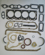 FULL HEAD SUMP GASKET SET CAPRI ESCORT 1300 1600 E GT CROSS X FLOW OHV WEBER
