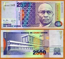 New listing Cape Verde, 2500 (2,500) Escudos, 1989, P-61, Unc