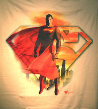 Marvel/DC: SUPERMAN IN THE CITY T-Shirt (L), Graphitti - RARE