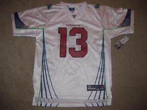 Kurt Warner 13 Arizona Cardinals Super Bowl NFL Reebok Jersey Youth XL 18-20 NEW