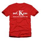 Fowler Robbie DOCKERS Soporte Retro Liverpool Futbol Camiseta - Todas Las Tallas