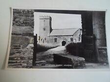 Vintage Real Photo Postcard CRANTOCK CHURCH, NEWQUAY 41634 Unposted  §A1332