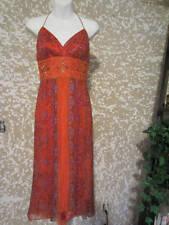New Women's Shelli Segal Sz. 6 Beautiful Summer Silk Dress