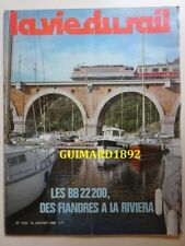 La Vie du Rail n°1725 13 janvier 1980 Les BB 22200, des Flandres à la Riviera