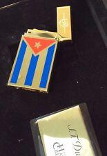 ST DUPONT CUBA LIBRE GOLD LINGE 2 LINE 2 LIMITED EDITION LIGHTER ONLY 500 MADE
