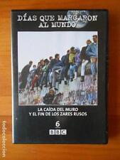 DVD LA CAIDA DEL MURO Y EL FIN DE LOS ZARES RUSOS DIAS QUE MARCARON AL MUNDO (H3