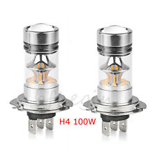 2x H4 6000K 100W LED 20-SMD Cree Brouillard DRL Ampoule Phare voiture Ampoules