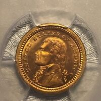 1903 PCGS MS-65 Louisiana Purchase Gold Commemorative Dollar