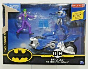 DC SPINMASTER BATCYCLE THE JOKER VS. BATMAN TARGET EXCLUSIVE NEW NIB