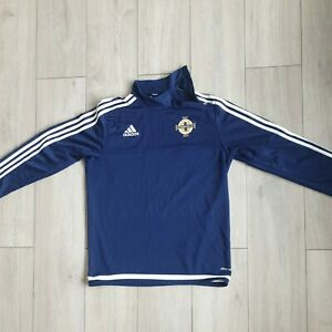 Northern Ireland ADIDAS Sweat Shirt Run out Training top Size M climacool