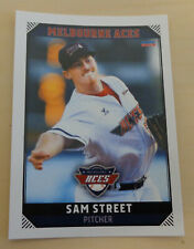 Sam Street 2018/19 Aussie Baseball card - Melbourne Aces - Kansas City T-Bones