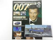 James Bond Collection Heft 53 Renault 11 Roger Moore 007 OVP 1603-30-71