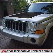 Jeep Commander XK hood blackout Matte Black Free Shipping Fits: 2006-2010
