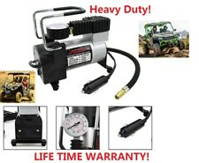 Heavy Duty Portable 12V 1 Car  Tire Inflator Pump Air Compressor RV Truck 4X4