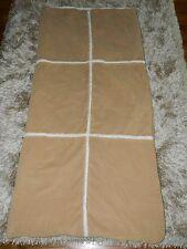 "Pottery Barn Kids Tan/Shearling Sleeping Bag 68"" X 32"""