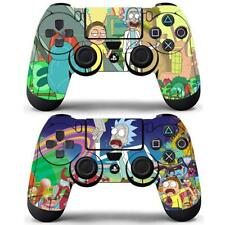 2 Pack PS4 Controller Dualshock Skin Rick and Morty Anime Vinyl Decal Stickers