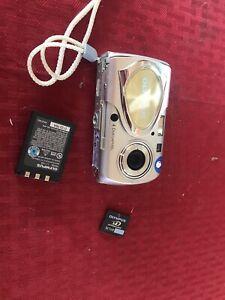 Olympus Stylus 400 Digital 4.1MP Digital Camera - Silver