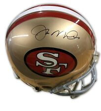 Joe Montana Signed Full Size 49ers Authentic Proline Helmet TriStar