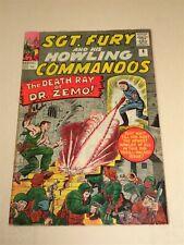 SGT FURY #8 VG/FN (5.0) MARVEL COMICS JULY 1964**
