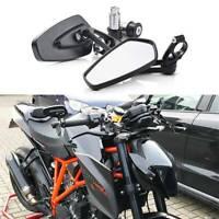 "Motorcycle 7/8"" Bar End Mirrors For KTM 250 390 690 790 DUKE 1290 Super Duke R A"