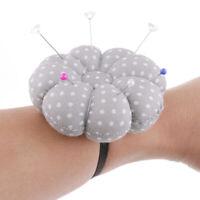 Pumpkin Shaped Sewing Needle Pin Cushion Pillow Pin Cushion Holder Wrist Craft