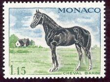 STAMP / TIMBRE DE MONACO N° 838 ** FAUNE / CHEVAL / CHEVAL BARBE