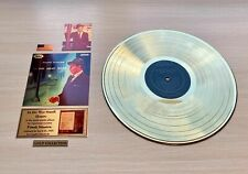 Frank Sinatra In The Wee Small Hours 1955 Gold Vinyl Record + Set Of Plaques
