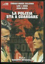 DVD LA POLIZIA STA A GUARDARE. Enrico Maria Salerno