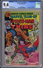 Marvel Team-Up #47 CGC 9.4 NM Wp Marvel 1976 Spider-Man & Thing Vs. Basilisk