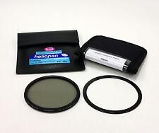 Heliopan 105mm Slim SH-PMC High Transmission Cir-Pola Filter+Lee 105mm Ring.New!