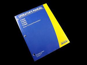 NEW HOLLAND T7030 T7040 T7050 T7060 Tractor Operators Manual 47460292 2013