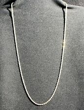 """Vintage Estate 14k Gold Twisted Rope Chain 11.5 g  24.5"""""""