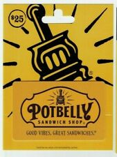 Potbelly Gift Card - Restaurant / Good Vibes, Great Sandwiches - No Value