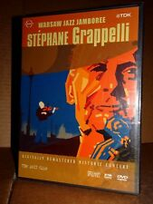 STEPHANE GRAPPELLI LIve from Warsaw Jazz Jamboree 1991 DVD NUOVO SIGILLATO!!!