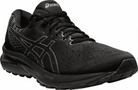 Men's ASICS GEL-Cumulus 22 Running Sneaker Black/Carrier Grey