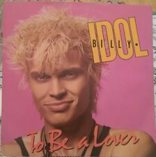 "BILLY IDOL - 7"" Vinyl - To be a Lover / All Summer Single - Chrysalis - 1986"