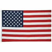 US FLAG 3x5 Foot Polyester USA American Stars Stripes United States Grommets