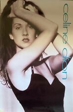 Celine Dion 1992 Original Promo Modeling Poster 24 X 36