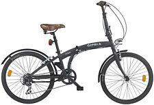 24 Zoll Klappfahrrad Gloria Forlanini 6 Gang Klapprad Faltrad Camping Fahrrad
